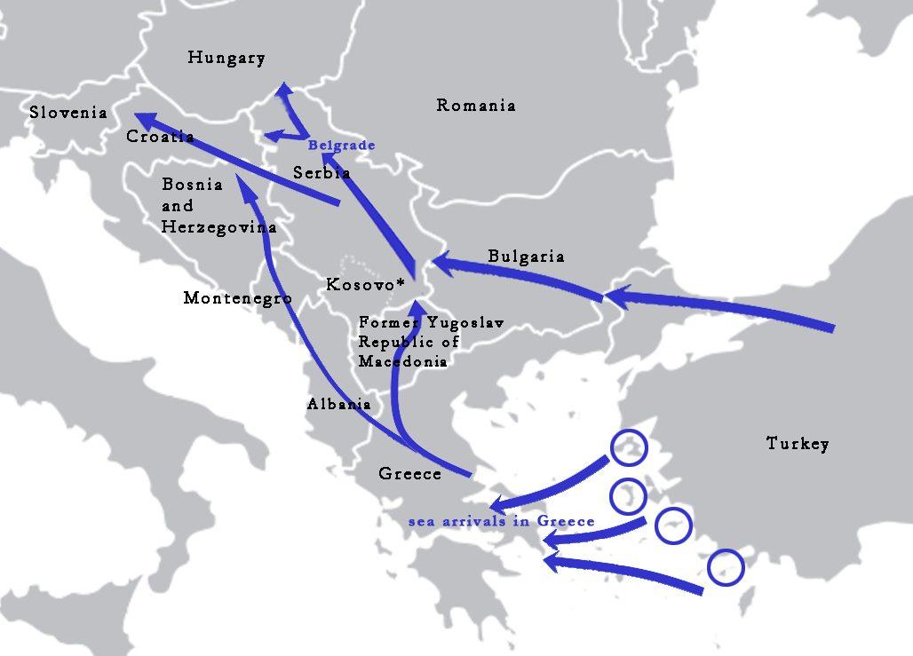 Regional sex trafficking in the balkans